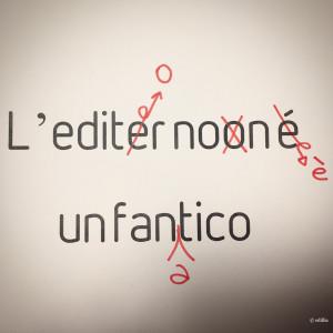 l'editor non è un fanatico